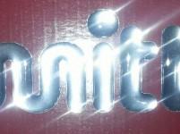 mitter logo glänzend